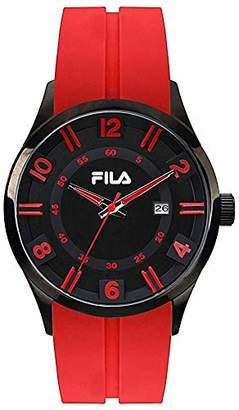 Fila Unisex Adult Analogue Quartz Watch with Silicone Strap FILA38-064-005