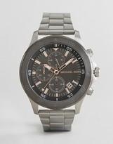 Michael Kors Mk8569 Walsh Bracelet Watch In Silver 44mm