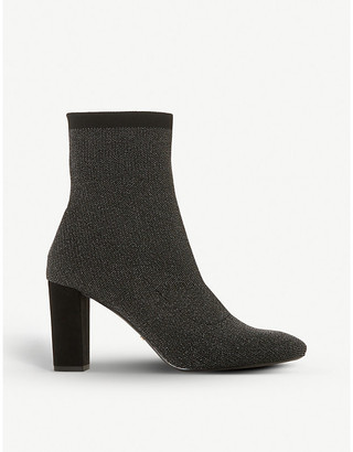 Dune Optical knitted sock boots