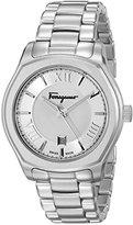Salvatore Ferragamo Men's FQ1940015 Lungarno Analog Display Quartz Silver Watch