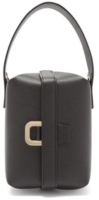Valextra Tric Trac Saffiano-leather Bag - Black
