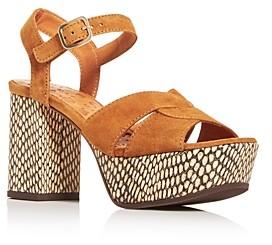 Chie Mihara Women's Dibe High Block-Heel Platform Sandals