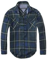 Tommy Hilfiger TH Kids Plaid Long Sleeve Shirt