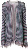 Nuur striped knit cardigan