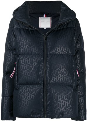 Tommy Hilfiger Monogram Quilted Puffer Jacket