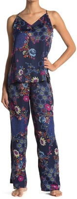 Josie Orion-Siesta Cami and Pajama Pant Set