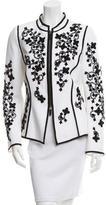 Andrew Gn Embellished Zipped Jacket