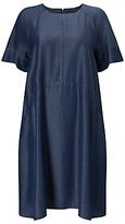 Phase Eight Chambray Zelda Dress, Blue
