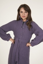 Plenty by Tracy Reese Cozy Coat in Heather/Purple