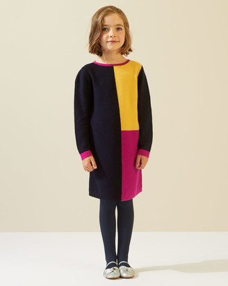 Jigsaw Colour Block Knit Dress