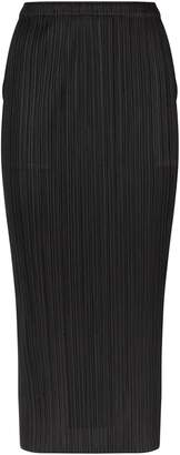 Pleats Please Plisse Midi Skirt