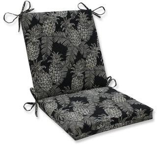 Bay Isle Home Emeline Batik Indoor/Outdoor Lounge Chair Cushion Fabric: Noche