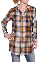 Jag Magnolia Plaid Long Shirt