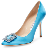 blue studded heels - ShopStyle