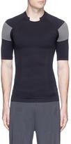 Adidas Day One Jacquard panel compression performance T-shirt