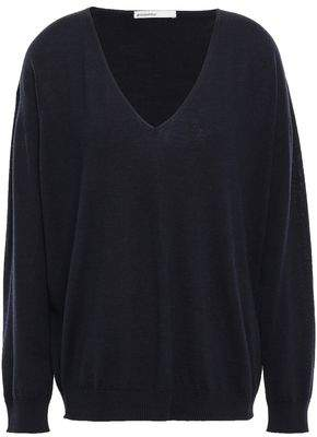 Melange Home Gentryportofino Wool, Silk And Cashmere-blend Sweater