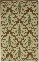 "Bacova Rugs, Marbella Fontaine 28.3"" x 46"" Accent Rug Bedding"