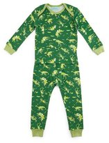 BedHead Neon Dinosaurs Pajama Shirt & Pants, Green, Size 3-24 Months
