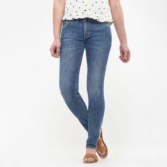 Le Temps Des Cerises Power Slim Fit Jeans with High Waist