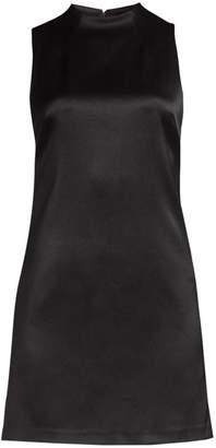 Alice + Olivia Coley Mockneck A-Line Dress