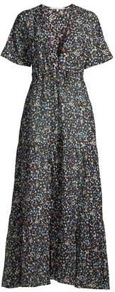 Stella McCartney Pebble Print Maxi Dress