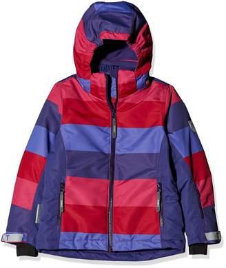 Ticket to Heaven Girls' Ski Jacke Madison m. Abnehmbarer Kapuze Allover Jacket