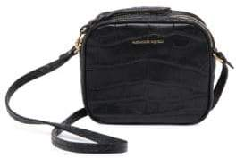 Alexander McQueen Mini Leather Camera Bag