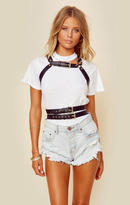 For love and lemons faux leather harness