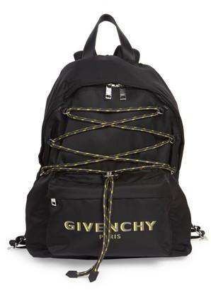 Givenchy Bond Logo Lace-Up Backpack