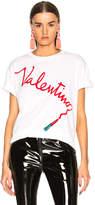 Valentino Lipstick Graphic Tee
