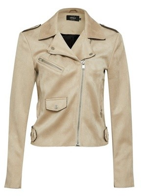Dorothy Perkins Womens Only Stone Pu Biker Jacket