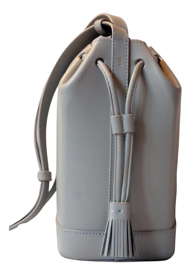 rsvp Grey Leather Handbags