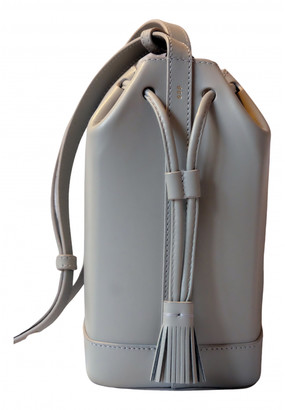 rsvp Grey Leather Handbags