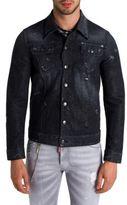 DSQUARED2 Sparkle Distressed Denim Jacket