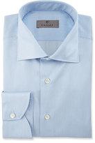 Canali Fine-Line Dress Shirt, Blue/White