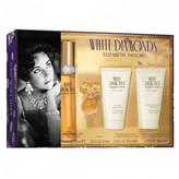 Elizabeth Taylor White Diamond EDT Gift Set 4 pack
