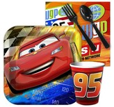 BuySeasons Disney Cars Dream Party Snack Pack