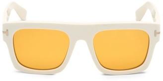 Tom Ford Fausto 53MM Square Sunglasses