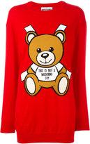 Moschino knitted teddy bear dress - women - Cotton - XS