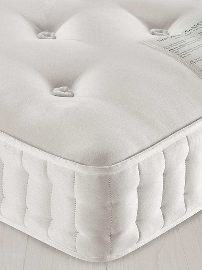 John Lewis & Partners Natural Collection Hemp 2500, Super King Size, Medium Tension Pocket Spring Mattress