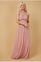 Thumbnail for your product : Little Mistress Grace Sweetheart Maxi Dress With Embellishment