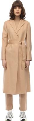 Agnona Zybeline Belted Cashmere Coat