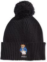 Polo Ralph Lauren Men's Ski Bear Pom-Pom Hat