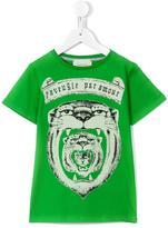 Gucci Kids - tiger print T-shirt - kids - Cotton - 4 yrs