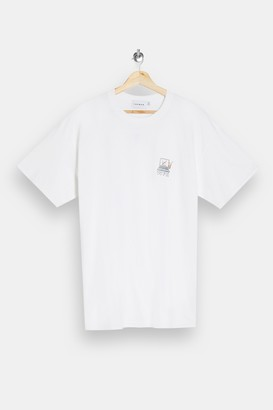 Topman Work From Home Print T-Shirt
