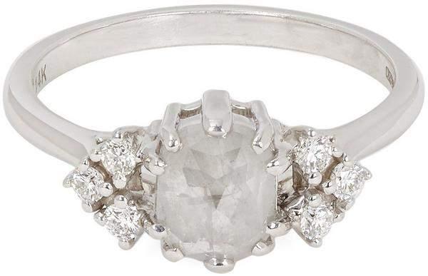 180eede129cef Anna Sheffield White Gold Arrow Diamond Ring