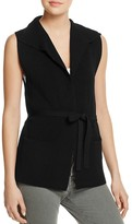 Aqua Belted Knit Vest - 100% Exclusive