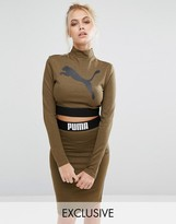 Puma Exclusive to ASOS Long Sleeve Crop Top Co Ord