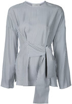 Studio Nicholson wraped blouse - women - Silk - 1