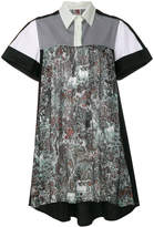 I'M Isola Marras printed high low shirt dress